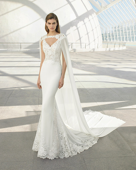 DAKOTA (3A204) (+ cape) Wedding                                          dress by Rosa Clara