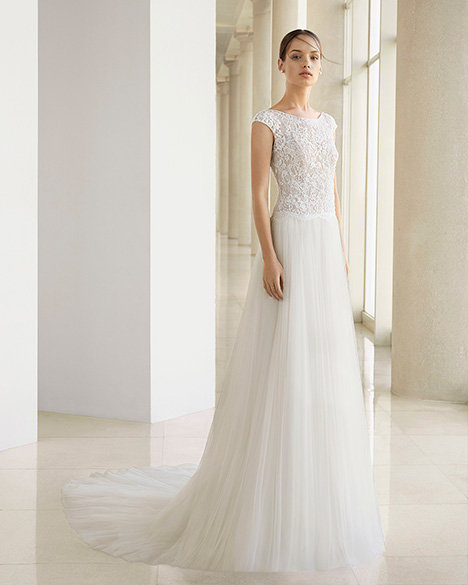 KESIA (3K135) gown from the 2019 Rosa Clara: Soft collection, as seen on dressfinder.ca