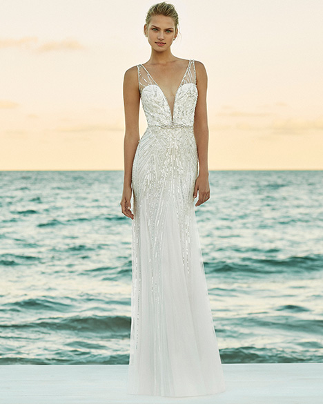 GALIP Wedding                                          dress by Aire Barcelona Beach Wedding