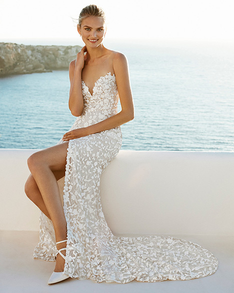 GAVINO Wedding                                          dress by Aire Barcelona Beach Wedding