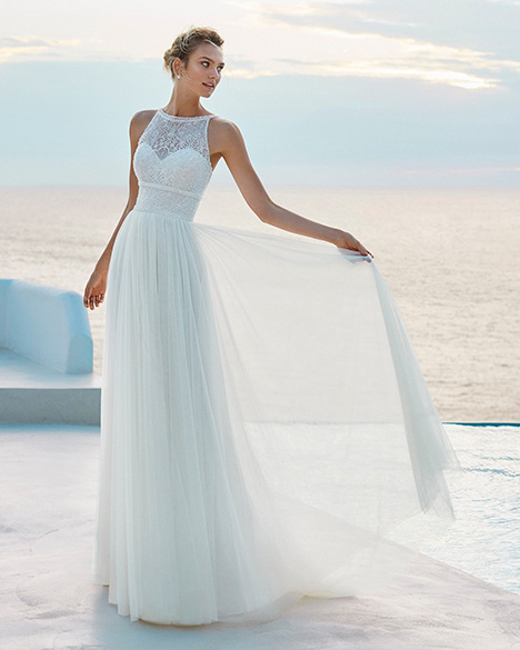 GIANIRA Wedding                                          dress by Aire Barcelona Beach Wedding