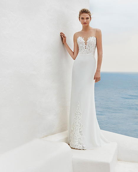 GISELA Wedding                                          dress by Aire Barcelona Beach Wedding