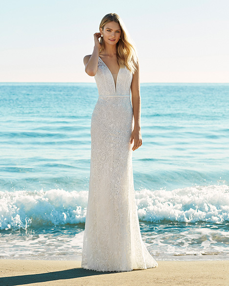 GARET Wedding                                          dress by Aire Barcelona Beach Wedding