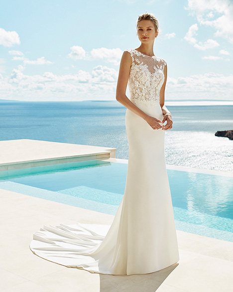 GLORY Wedding                                          dress by Aire Barcelona Beach Wedding