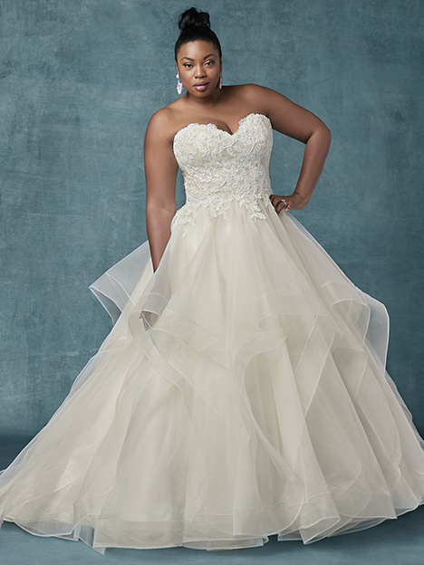Anastasia (Curve) Wedding                                          dress by Maggie Sottero