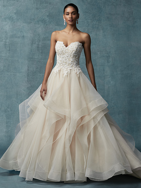 Anastasia Wedding                                          dress by Maggie Sottero