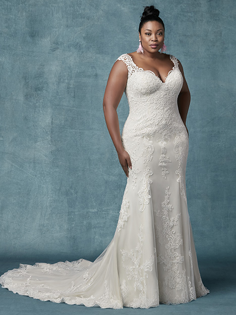 Brecklyn Lynette (Curve) Wedding                                          dress by Maggie Sottero