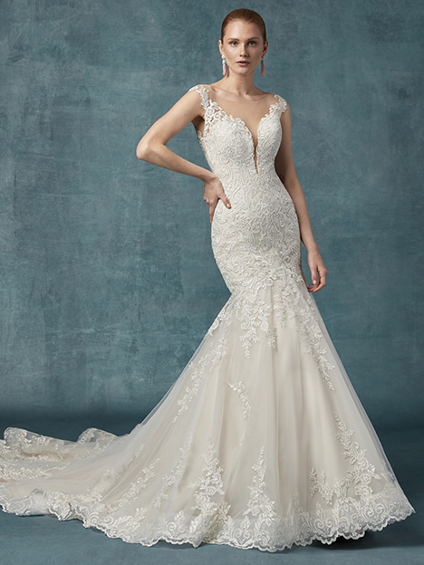 Constance Wedding                                          dress by Maggie Sottero
