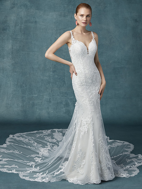 Cyrus Wedding                                          dress by Maggie Sottero