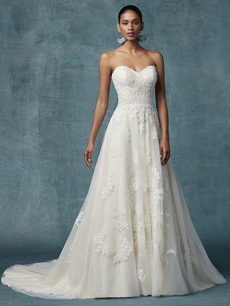Dorthea Wedding                                          dress by Maggie Sottero