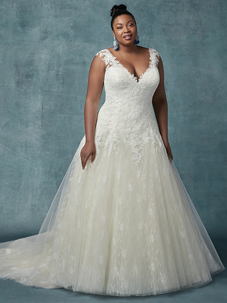 Francette (Curve) Wedding                                          dress by Maggie Sottero