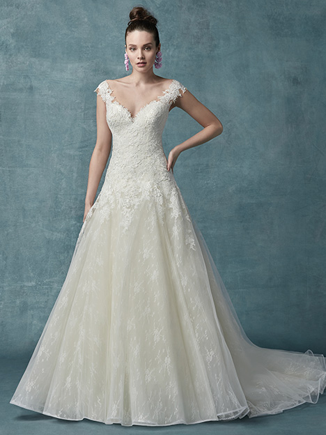 Francette Wedding                                          dress by Maggie Sottero