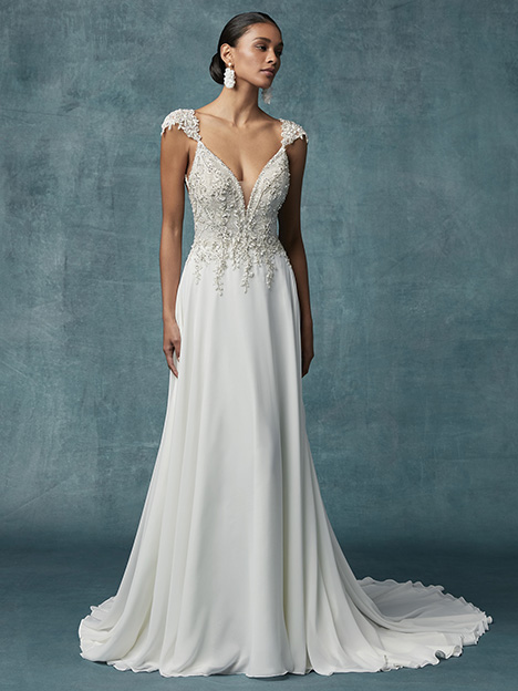 Gabor Wedding                                          dress by Maggie Sottero
