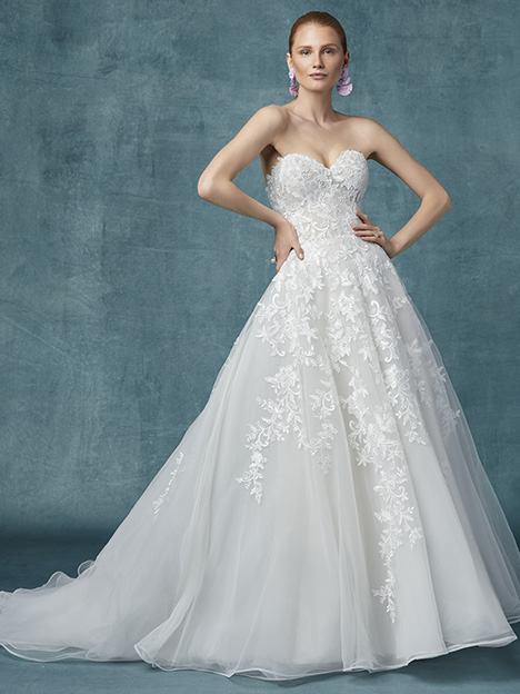 Kathleen Wedding                                          dress by Maggie Sottero