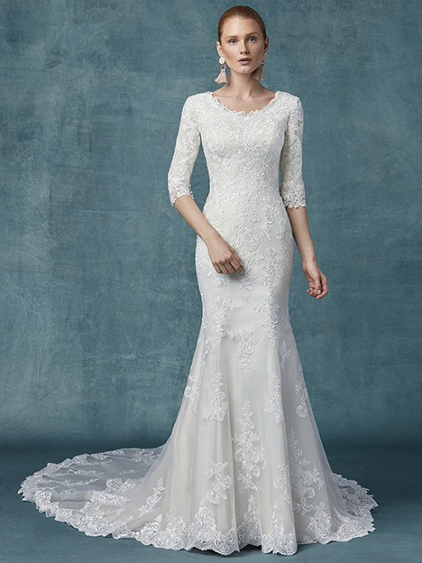 Kitt Anne Wedding                                          dress by Maggie Sottero
