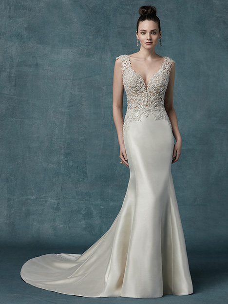Janelle Wedding                                          dress by Maggie Sottero