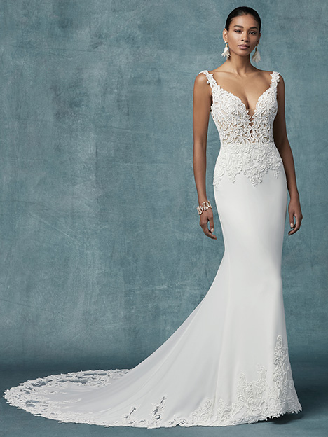 Kelsey Wedding                                          dress by Maggie Sottero