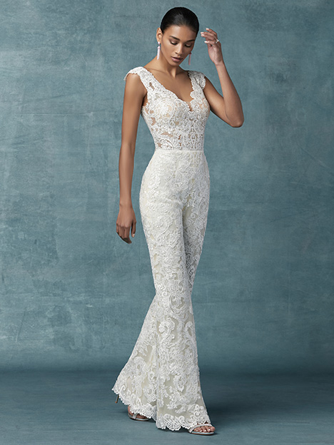 Milan Wedding                                          dress by Maggie Sottero