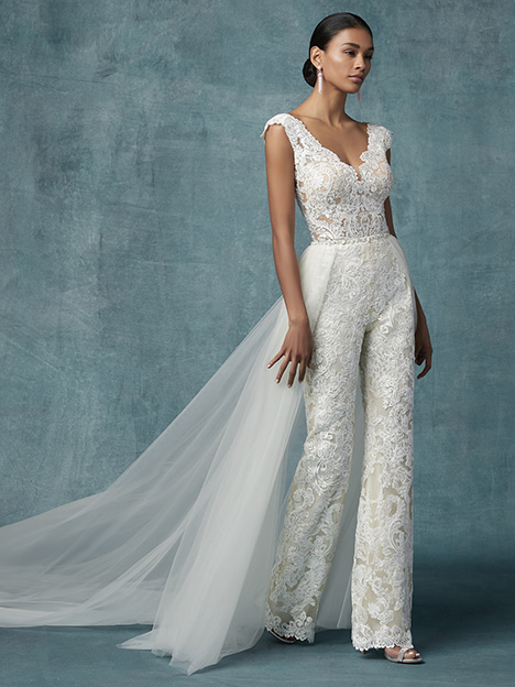Milan (+ overskirt) Wedding                                          dress by Maggie Sottero