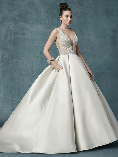 Mylene Wedding                                          dress by Maggie Sottero