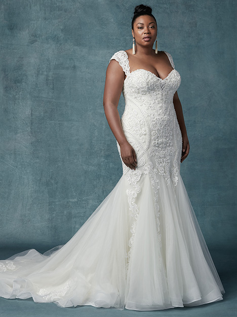 Quincy (Curve) Wedding                                          dress by Maggie Sottero