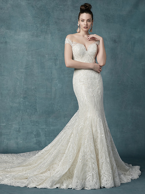 Sabra Wedding                                          dress by Maggie Sottero