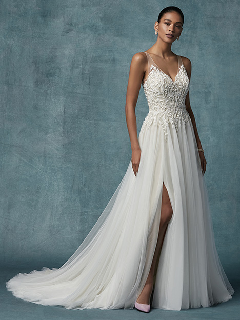 Seeley Wedding                                          dress by Maggie Sottero