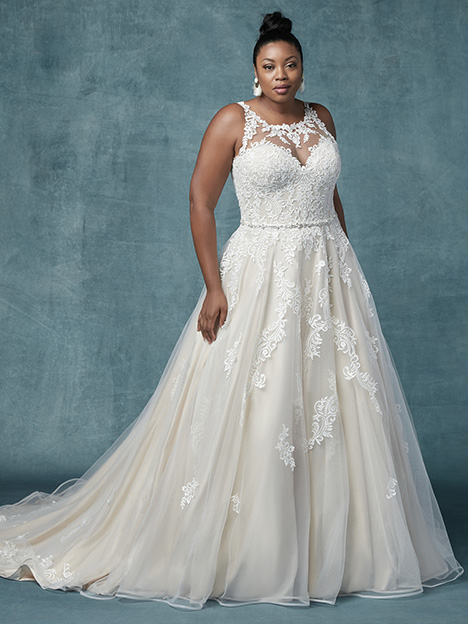 Shelissa Lynette (Curve) Wedding                                          dress by Maggie Sottero