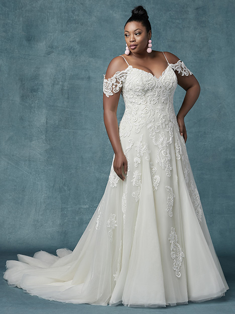 Sorrento Lynette (Curve) Wedding                                          dress by Maggie Sottero