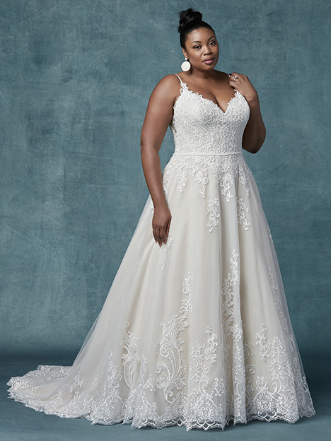 Wallis (Curve) Wedding                                          dress by Maggie Sottero