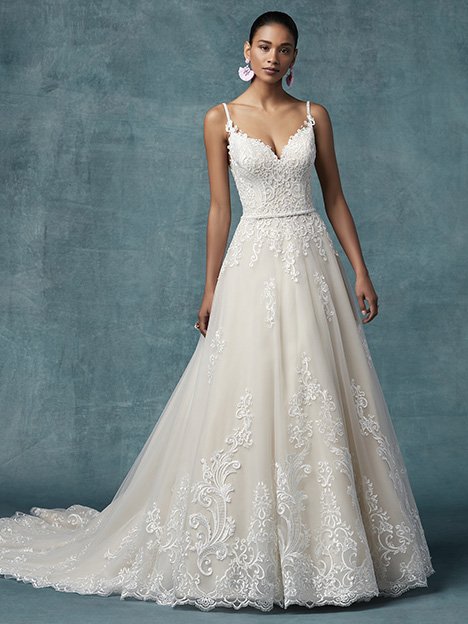 Wallis Wedding                                          dress by Maggie Sottero