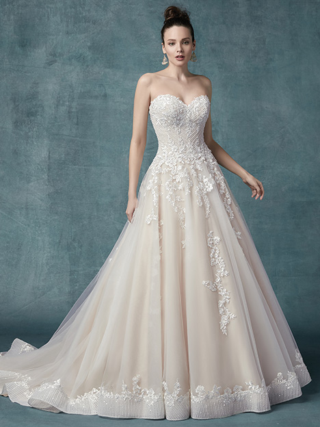 Zinaida Wedding                                          dress by Maggie Sottero