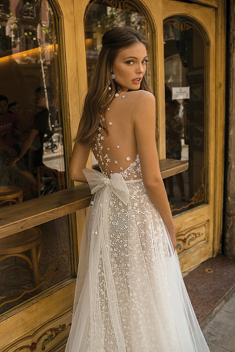 Demi (back) Wedding                                          dress by Muse by BERTA