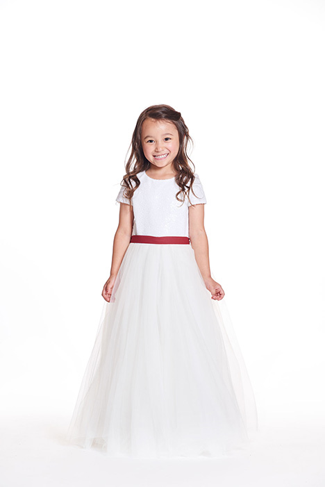F0219 Flower Girl                                      dress by Bari Jay: Flower Girls
