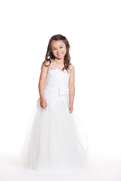 F0319 gown from the 2019 Bari Jay: Flower Girls collection, as seen on dressfinder.ca