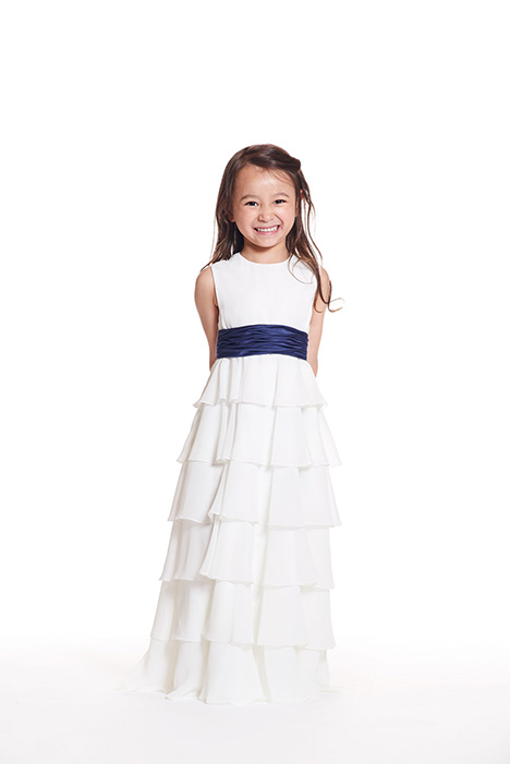 F0419 gown from the 2019 Bari Jay: Flower Girls collection, as seen on dressfinder.ca