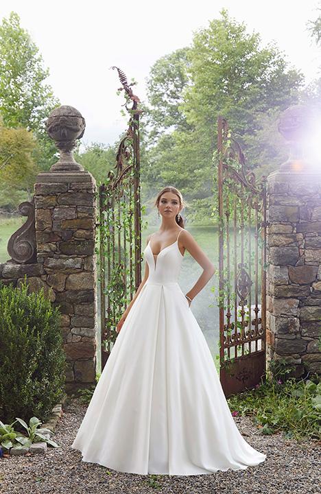 5706 Wedding                                          dress by Morilee Blu