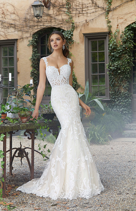 Style 5707 gown from the 2019 Morilee Blu collection, as seen on dressfinder.ca
