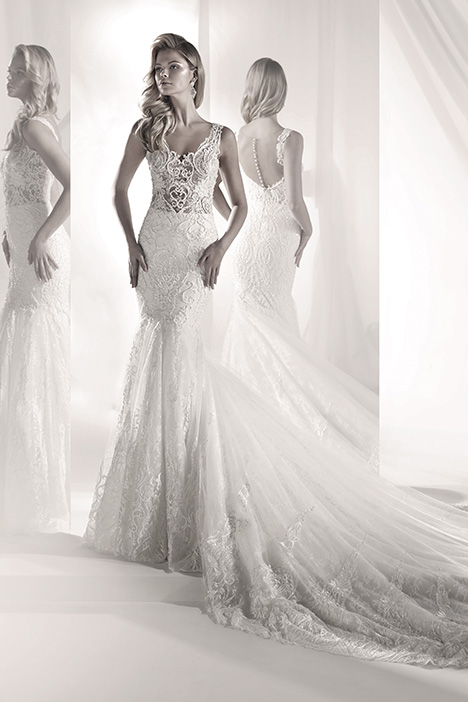 LXAB19008 Wedding dress by Luxury