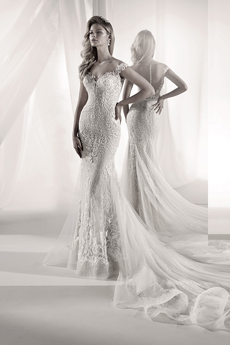 LXAB19022 Wedding dress by Luxury