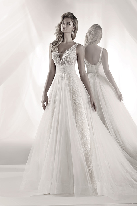 LXAB19025 Wedding                                          dress by Luxury