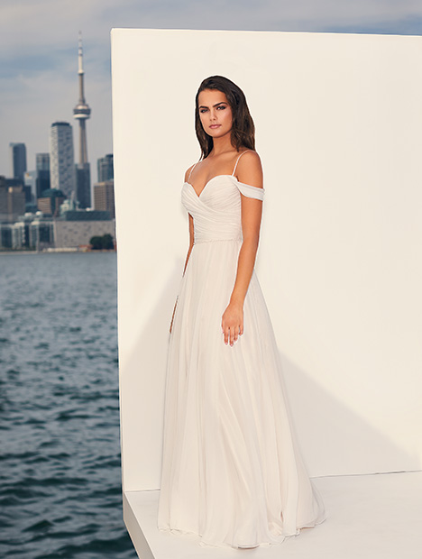 4834 Wedding                                          dress by Paloma Blanca