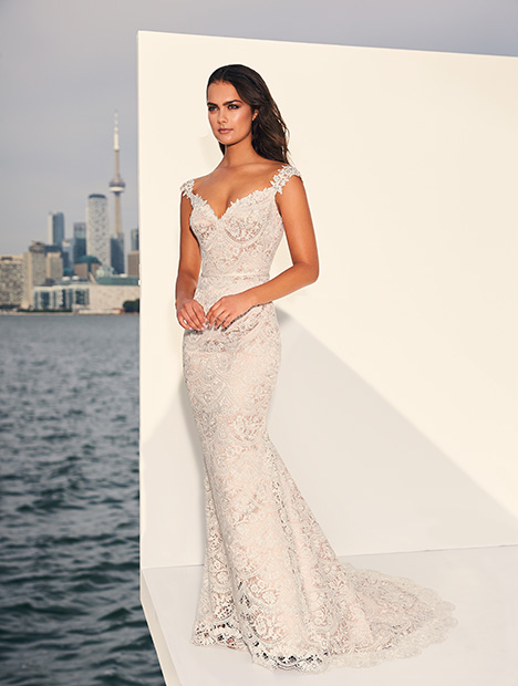 4840 Wedding                                          dress by Paloma Blanca