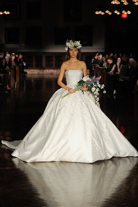 A Blissful Sentiment Wedding                                          dress by Reem Acra