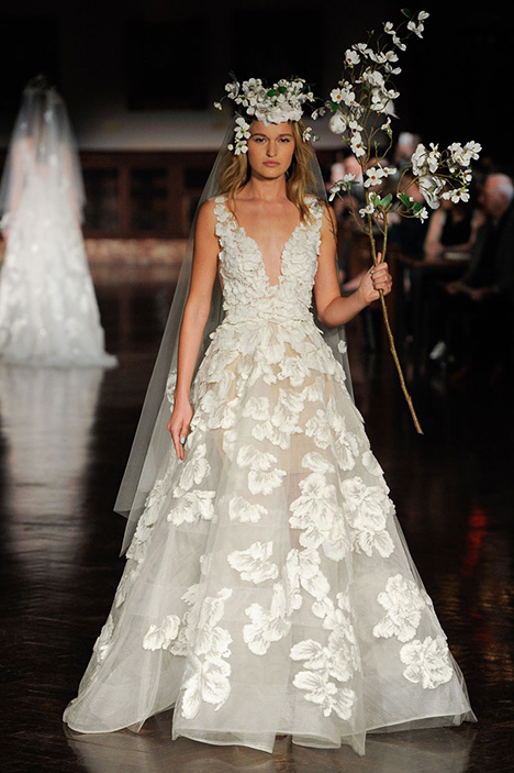 Celestrial Enchantment Wedding                                          dress by Reem Acra