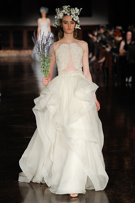Dance of Heavens Wedding                                          dress by Reem Acra