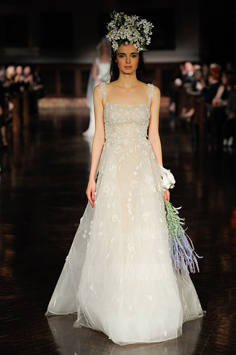 Enchanted Heart Wedding                                          dress by Reem Acra