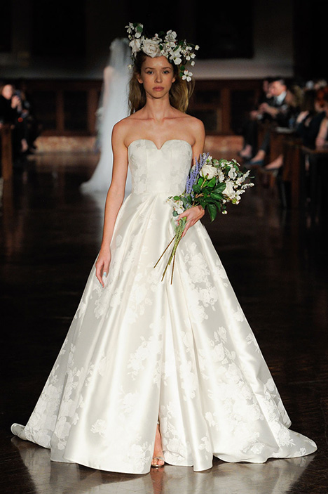 Flock of Angels Wedding                                          dress by Reem Acra