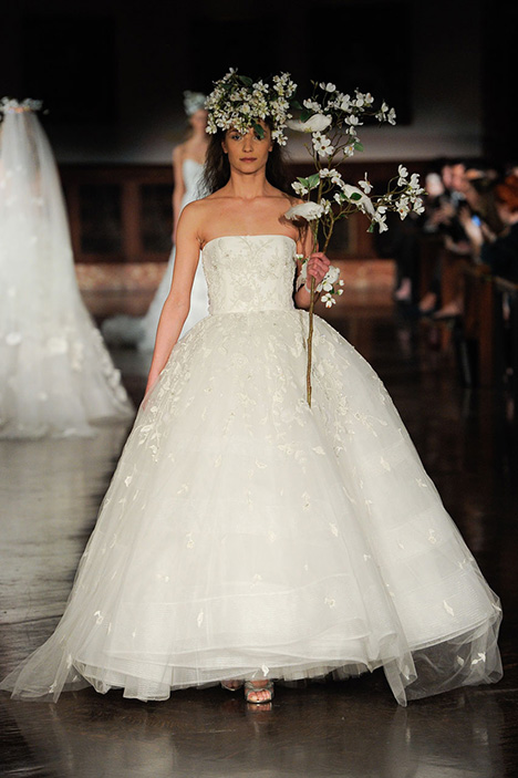 For Evermore Wedding                                          dress by Reem Acra