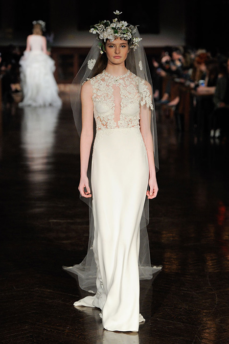 Fountian of Life Wedding                                          dress by Reem Acra